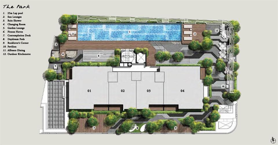 Onze Tanjong Pagar Site Plan