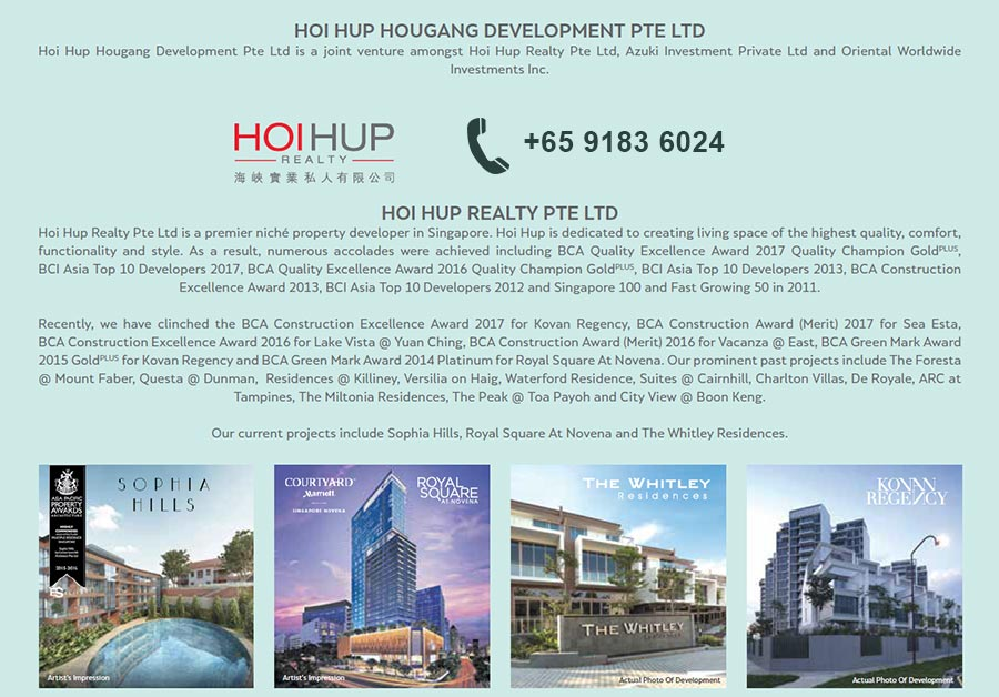 Hundred Palms Residences Developer Hotline