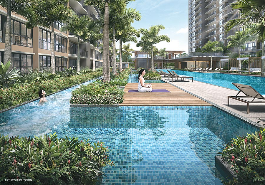 Hundred Palms Residences Condo Singapore Meditation Deck