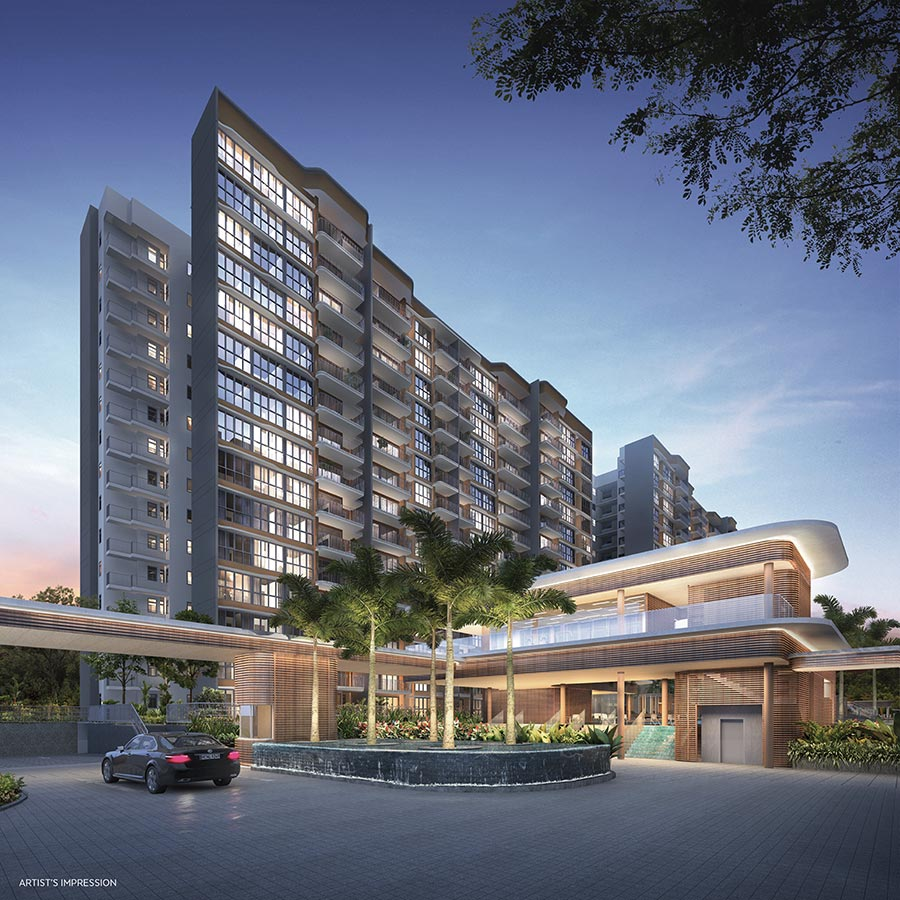 Hundred Palms Residences Condo Singapore Pick Up Bay