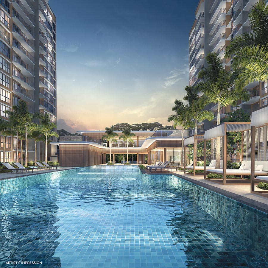 Hundred Palms Residences Condo Singapore Swimming Pool 2