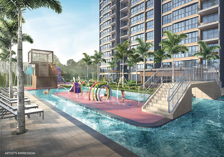 Hundred Palms Residences Condo Singapore Swimming Pool
