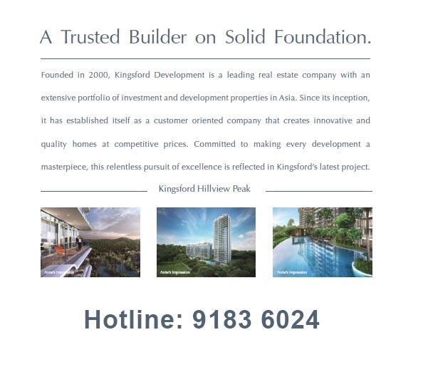 Kingsford Waterbay Developer Hotline