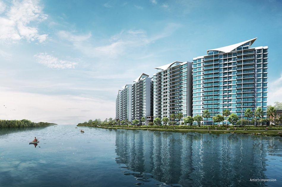 Kingsford WaterBay Condo Singapore Facade