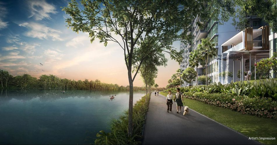 Kingsford WaterBay Condo Singapore Park Connector