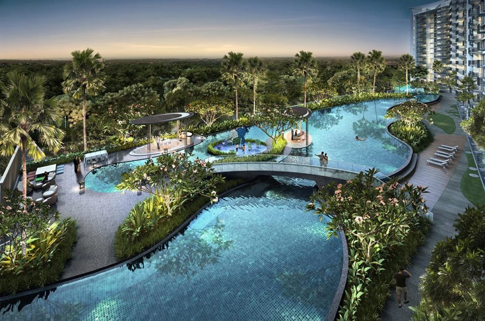 Kingsford WaterBay Condo Singapore Pool Overview